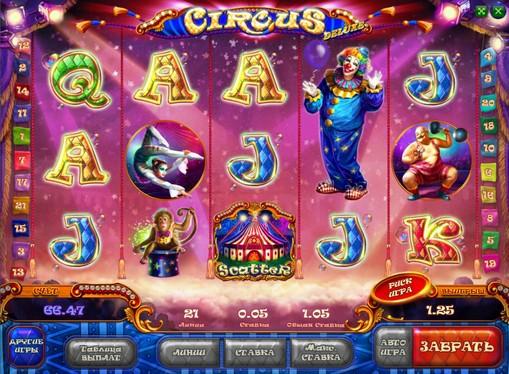 La aparición de la ranura Circus HD