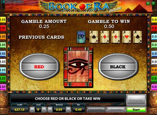 Doble juego de tragamonedas Book of Ra Deluxe