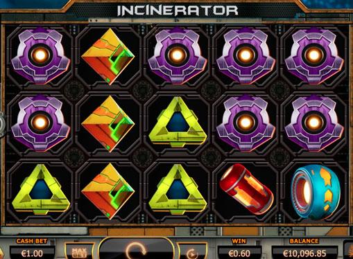 Juega máquinas por dinero real - Incinerator