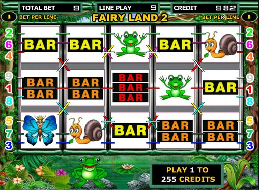 Los carretes de slot Fairy Land