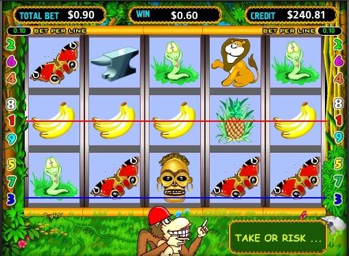 Crazy Monkey juega el tragamonedas en línea